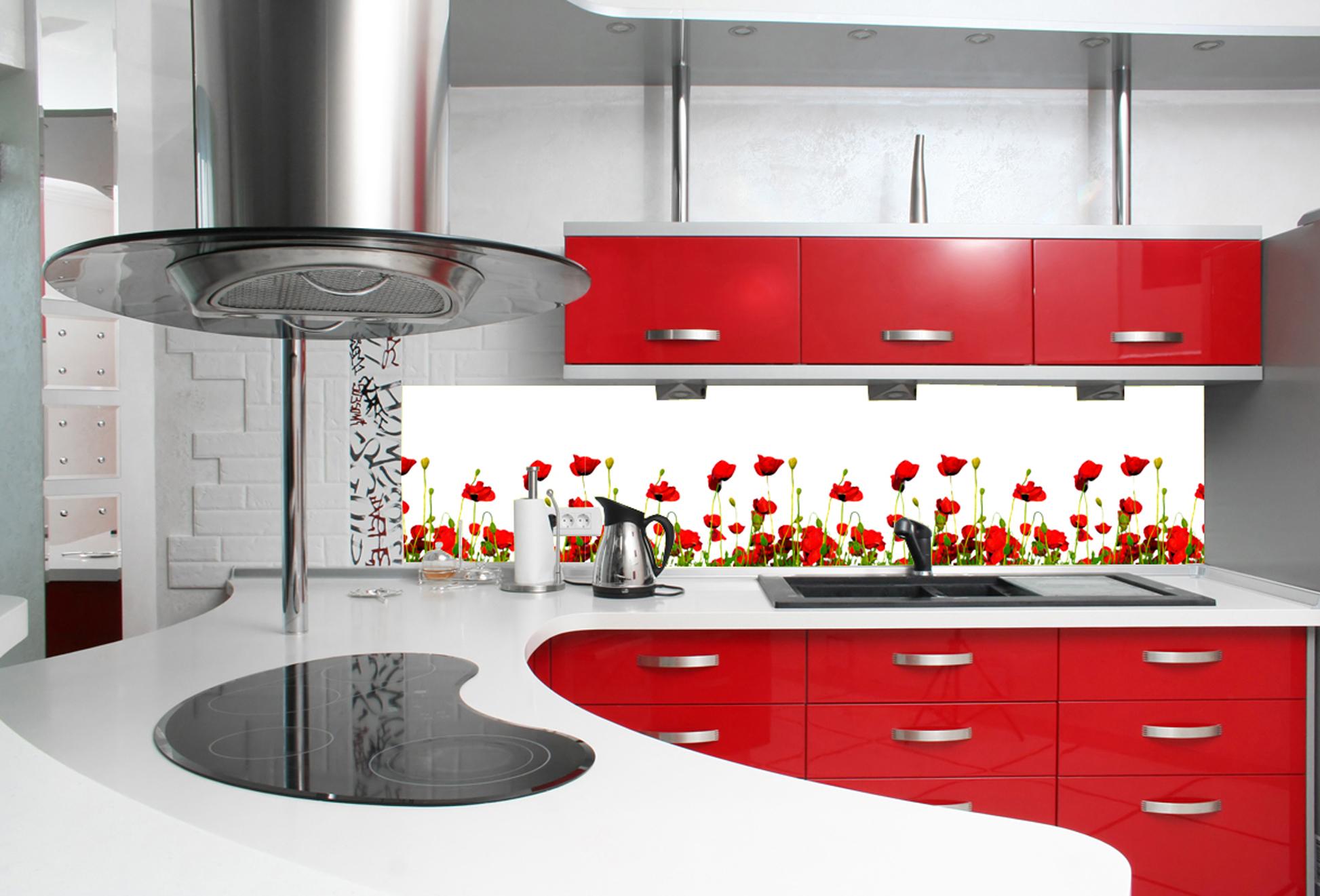 Idee per pitturare cucina classica - Piastrelle cucina rosse ...