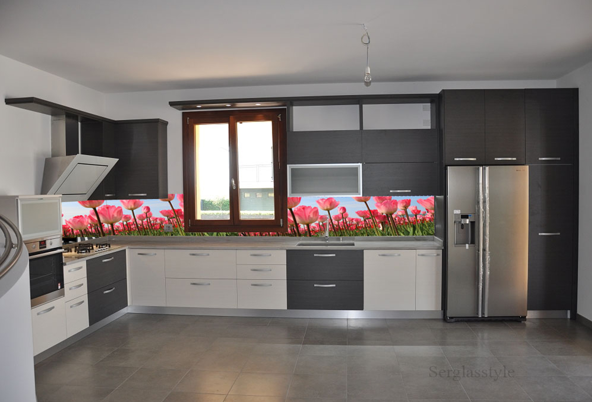 Flower with cucine ad angolo con finestra for Cucine ad angolo con finestra
