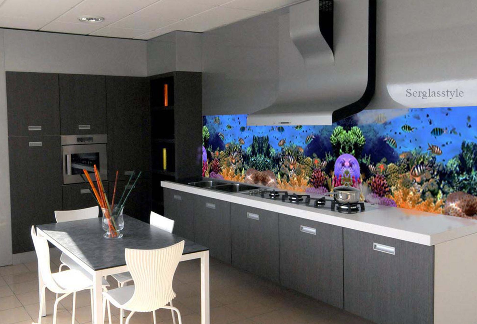 Cucine moderne ad angolo con finestra excellent cucine ad for Acquario casa prezzi