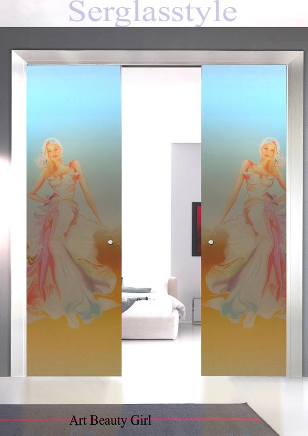 foto de Serglasstyle porte in cristallo veneto porte tuttovetro satinate sabbiate porte stampate