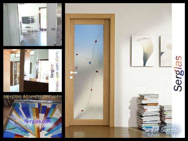 Box doccia con serena vetri porte in cristallo serglass for Ville moderne con vetrate