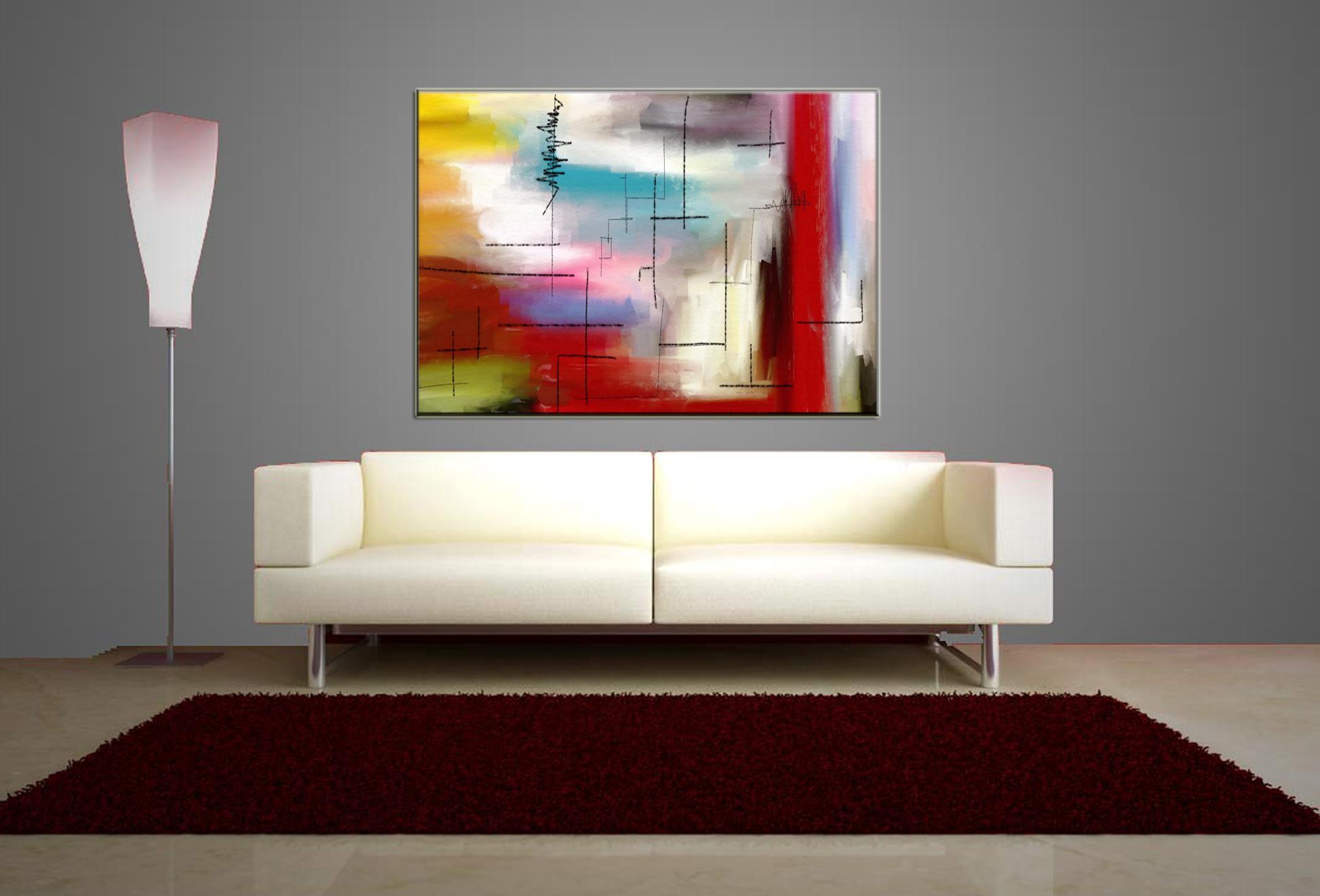 Quadri da soggiorno quadri da soggiorno with quadri da for Detrazione arredamento